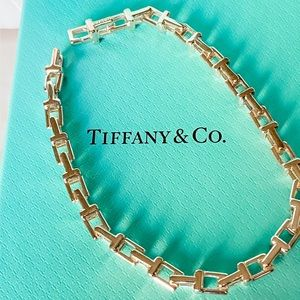 Tiffany & Co. T Chain Bracelet medium BRAND NEW